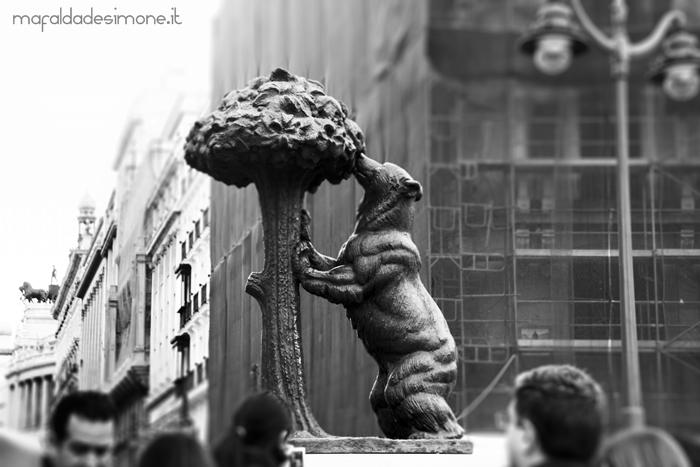 Statua dell'Orso e del Corbezzolo, Madrid - Canon Eos 550d, Tamron 18-200mm - Mafalda de Simone.