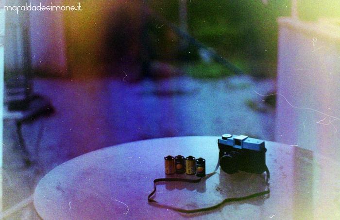 Zenit 12xp, Kodak Colorplus 200, Dishwashed film, Cyberscanner Vision Compact - Mafalda de Simone