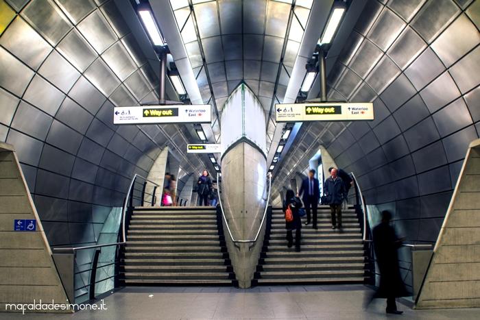 Underground, Londra - Canon Eos 550D, Tamron 18-55mm - Mafalda de Simone