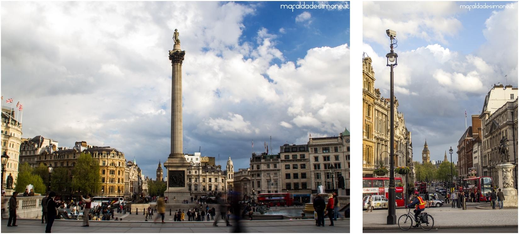 Trafalgar Square, London - Canon Eos 550D - Mafalda de Simone