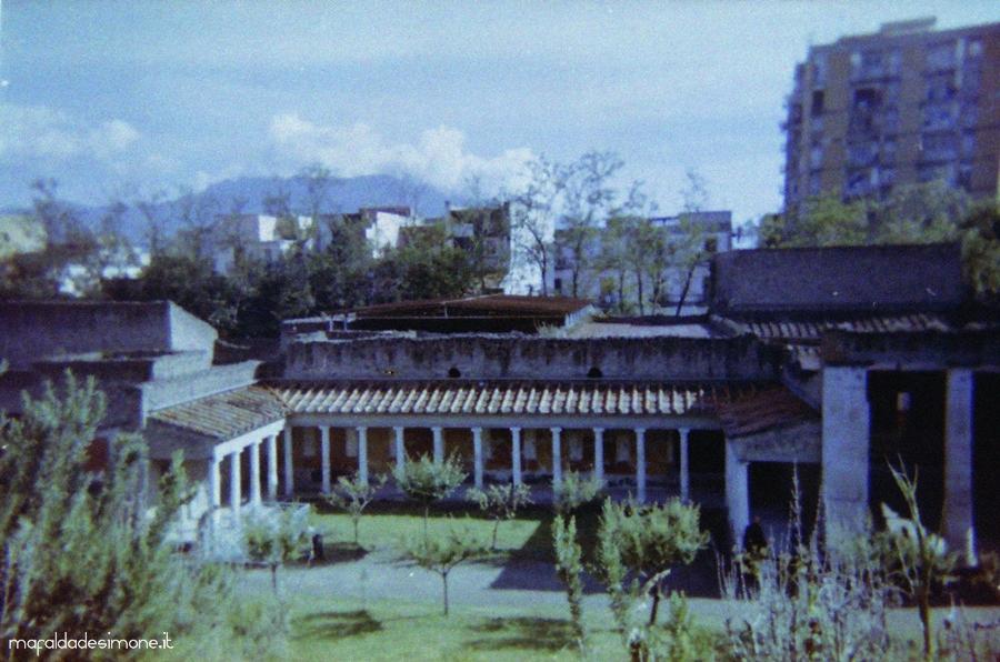 Villa di Poppea, Oplontis, Torre Annunziata - Disposable camera Smile - Mafalda de Simone